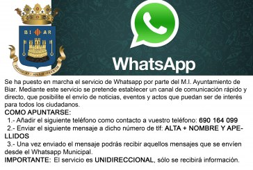 Servicio Whatsapp Municipal