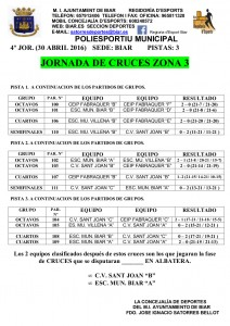 JORNADA CRUCES BIAR - RESULTATS I CLASSIFICATS 2º FASE PAG. 2 -