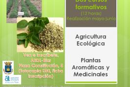 Dos cursos formatius d'agricultura