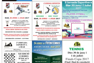 II Jornada esportiva de Biar