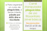 Agricultura, carnet manipulador plaguicides d'us fitosanitari