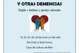 Curso de formación para cuidadores de personas con alzheimer y otras demencias