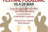 "XXIII Festival Folklòric ""Vila de Biar"""