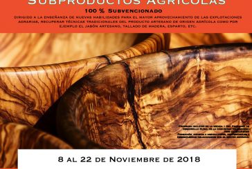 Curs d'artesania II: Subproductes agrícoles