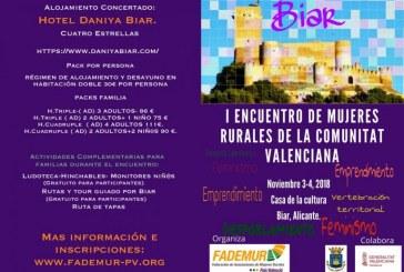 I Trobada de Dones Rurals de la Comunitat Valenciana a Biar