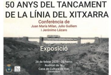 """Conferència """"50 anys del tancament de la línia del Xitxarra"""""""