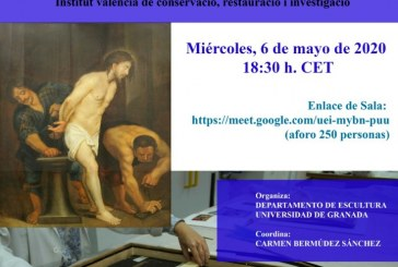 Conferencia on-line en relación a la obra «La fragelación de Cristo».
