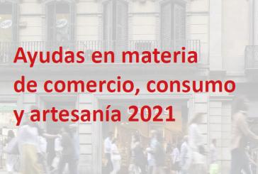 Ajudes de matèria de comerç, consum i artesania 2021