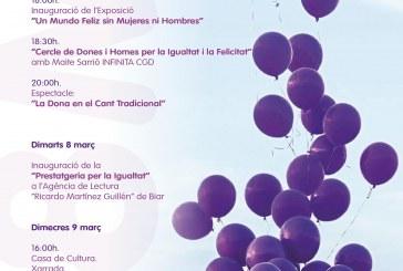 Actividades organizadas con motivo del 8 de marzo, Día internacional de la Mujer