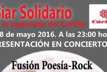 Biar solidario, presentación fusión poesía-rock