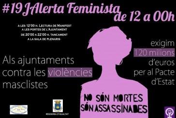 19 de Juny, Alerta feminista de 12 h. a 00 h.