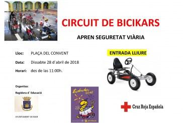 Circuito de Bicikars para aprender seguridad vial