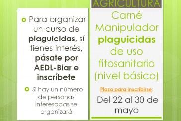 Agricultura, carnet manipulador plaguicides d'ús fitosanitari
