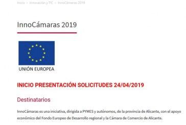 Ajudes InnoCámaras 2019